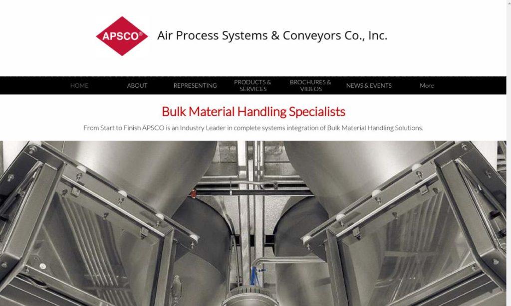 Air Process Systems & Conveyors Company, Inc.