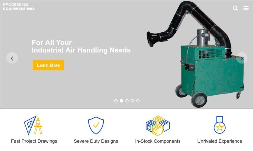 Processing Equipment, Inc.