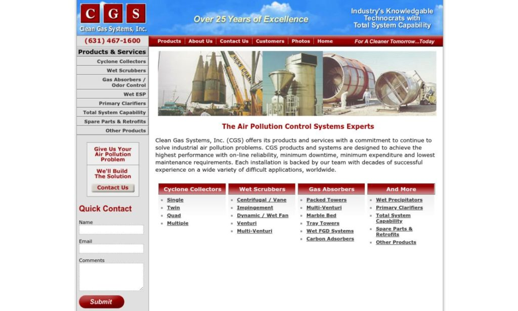 Clean Gas Systems, Inc.