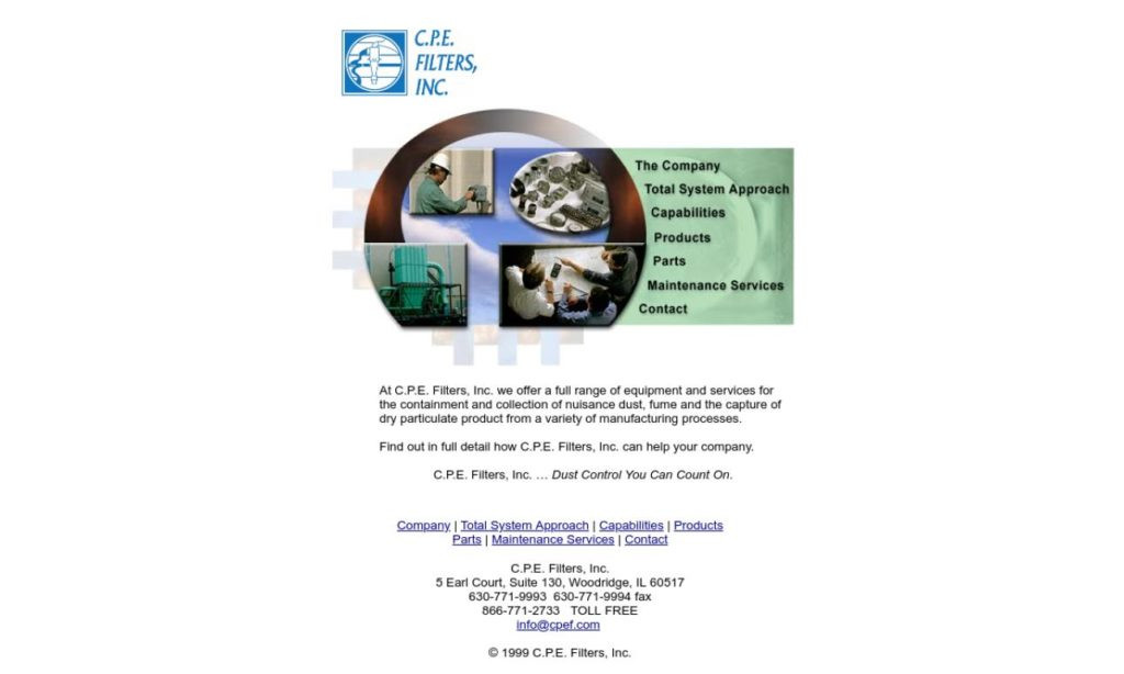 C.P.E. Filters, Inc.