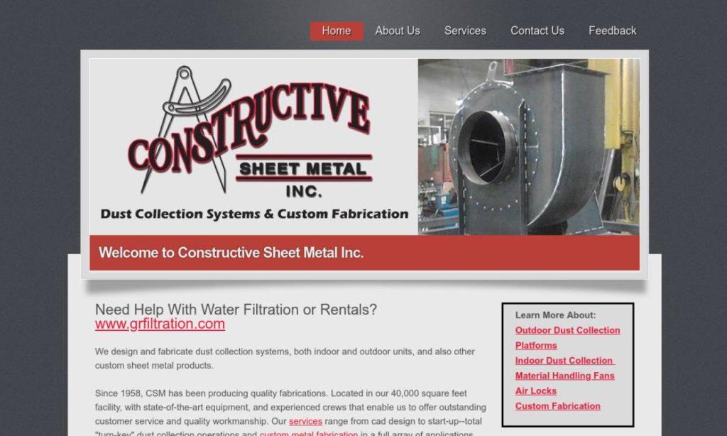 Constructive Sheet Metal, Inc.