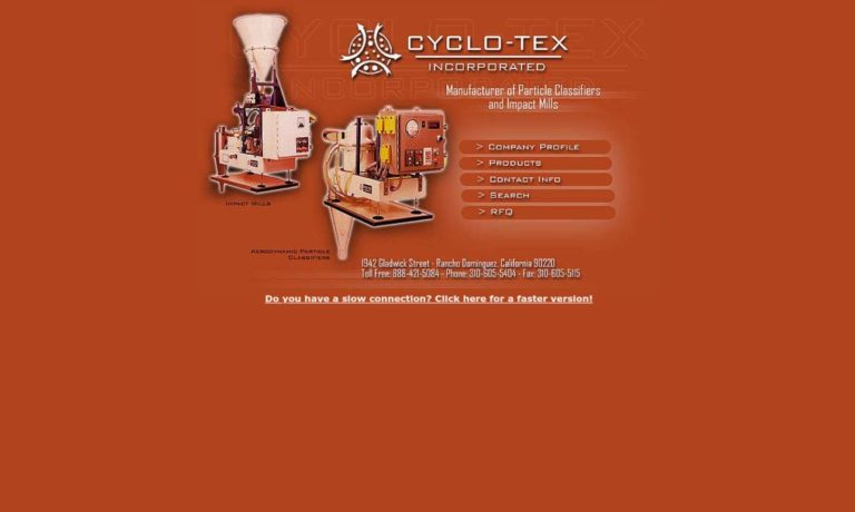 Cyclo-Tex Incorporated
