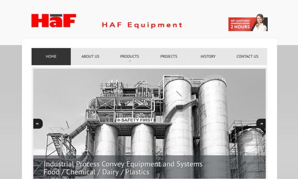 HAF Equipment, Inc