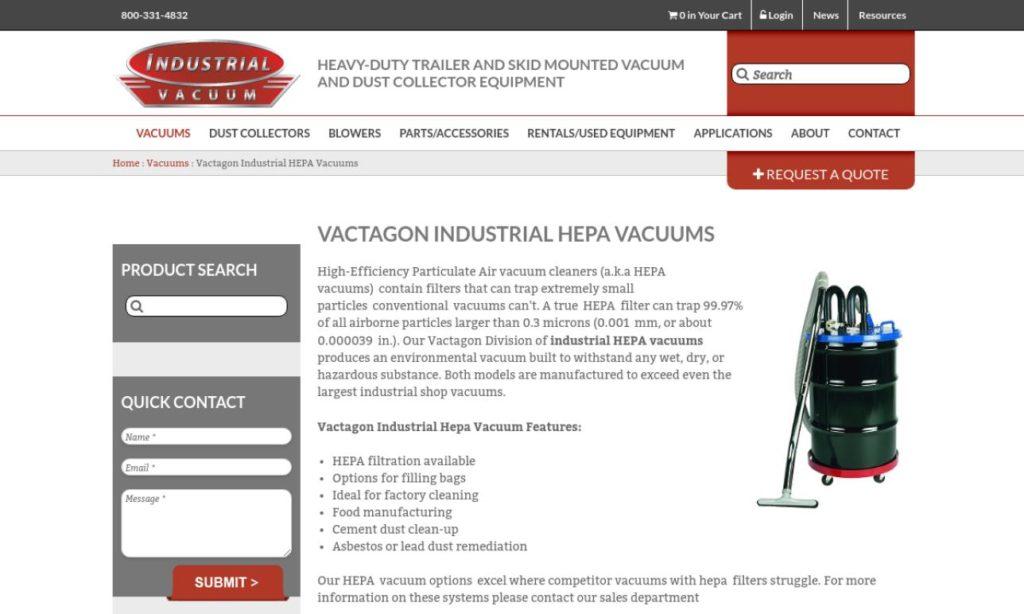 Industrial Vacuum Equipment Corporation