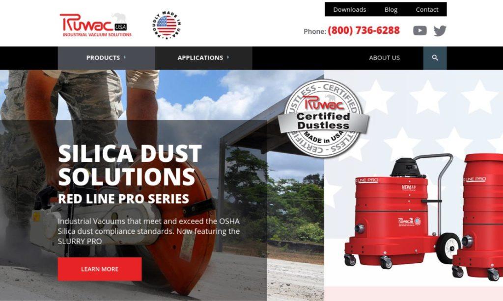 Ruwac Industrial Vacuums