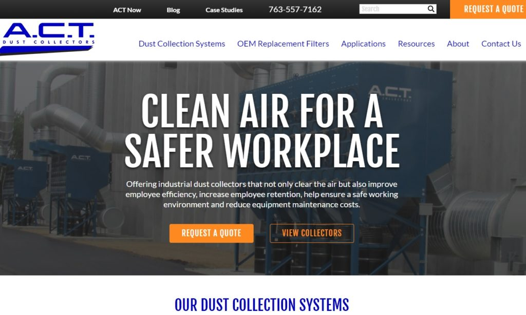 A.C.T. Dust Collectors